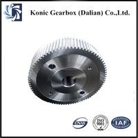 OEM high precision forging steel reduction transmission helical gears manufacturer