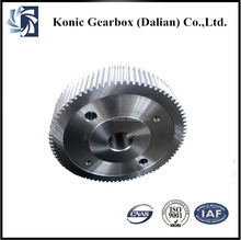 OEM high precision forging steel reduction transmission helical gears manufacturer