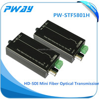 HD SDI Mini Fiber Optic video equipment transmitter