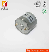 12v brushed dc high torque electric linear shaft motor 370