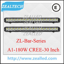 Made from C REE-XML-T6 High lumens 30inch 180W LED Truck Bar made in China