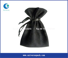 gown suede pouch custom faux suede jewelry pouch bag packaging