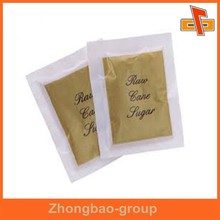 moisture proof aseptic food grade pepper salt sugar sachet with printing for flavoring packaging