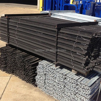 Wholesale high quality galvanized steel fence posts for sale