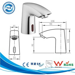 Residential family & home bathroom electric basin faucet accessory