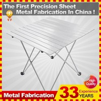 New Lightweight Easy Carry Aluminum Frame Foldable Picnic Outdoor Camping Table