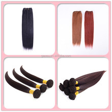 hot sale virgin brazilian human hair natural straight clip in hair extensions