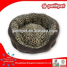 china wholesale pet bed Leopard bed supplier