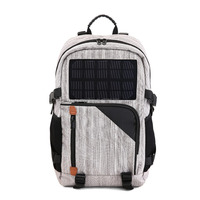 40L Solar Panel Charging Traveling Hiking Backpack