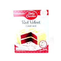 Betty Crocker Red Velvet Cake Mix 6 x 500g