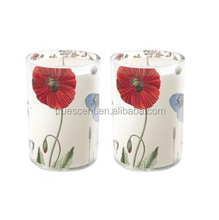 Glass containers for candles for exporting envases de vidrio para velas