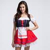 2015 German Oktoberfest OKTOBERFEST Costume Garden Maid Beer Girl Bavarian Dress FS000004