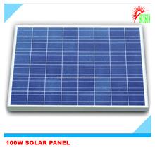 Best price polycrystalline 12V 100W Solar Panel