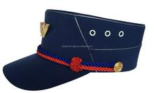 new design of military visor peak cap