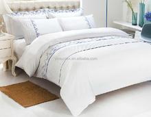 New five-star hotels 100% cotton bedding white hotel bedding four piece