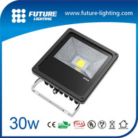 CE ROHS Approval energy saving high efficiency 30w hot sell led flood light