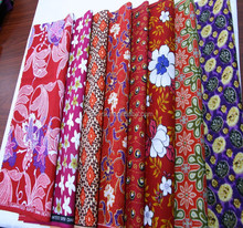 Wholesale African Wax Prints Fabric Wax Block Print Textile Cotton Fabric