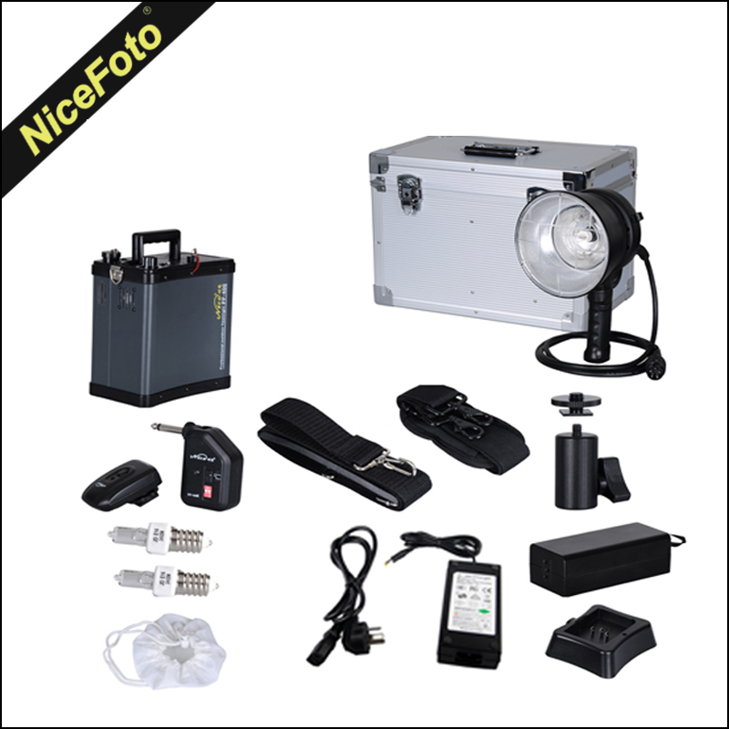 Outdoor lighting photography equipment : Pf portable outdoor flash photography lighting ws