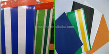 PVC Stripe Tarpaulin for Awning Tent Cover