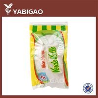 China transparent pp woven bag for 25kg 50kg rice packing ,rice packing bag
