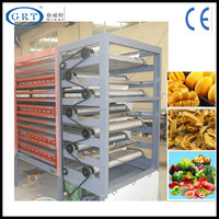 high-quality industrial conveyor mesh belt dryer/mango apple fruit and vegertable drying machine