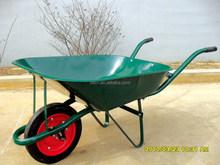 Solid wheel 65L Metal tray Wheelbarrow WB6501