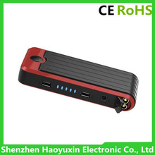 Car emergency start charging light and warning (SOS) lamp all in one mini jump starter