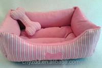 plush Teddy dog house/plush VIP house for your teddy dog