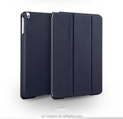 High Quality Genuine leather waterproof case for iPad air 2