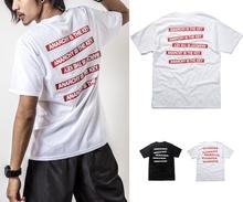 Fashion Mens T-Shirt with printing stripes