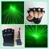 Alibaba new design green laser gloves with 4 pcs green lasers laser dancing stage show light DJ CLUB party with inside battery