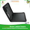 TYWEN - 0180 black leather padfolios / professional 2 pocket portfolios / custom presentation folders