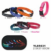 Various Colors 20 Hours Long Safe High Visible Led Dog Collar
