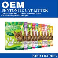 2015 pure bentonite cat litter suppliers