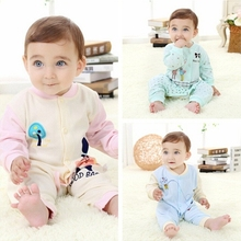 M20929A 2015 Autumn new design cotton soft baby clothes baby romper