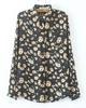 Sunflower chiffon loose shirt group of restoring ancient ways women sunshine blouse