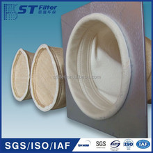 aramid dust collector filter bag for cement plant