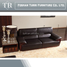 Modern Dubai Italian Genuine Leather Sofa For Living Room
