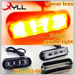 Police motorcycle strobe light LED gill strobe lights ,emergency warning light