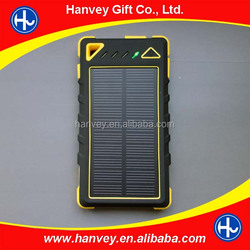 Newest 8000mah solar charger powerbank,solar for iphone
