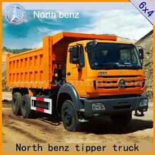 used car sale dump truck driving 340 horsepower North benz export
