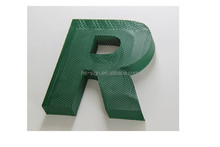stainless 3d words outdoor letter signs