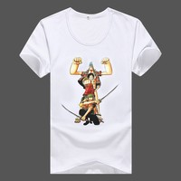 Promotional Custom 2015 cheapest chinese factory cotton white plain short sleeve round neck t shirt