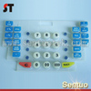 Custom made water proof silicone button rubber numeric keypad
