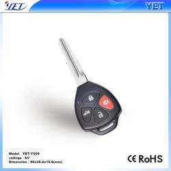 12v DC motor RF key with encoder, Remote Control Key YET YS09