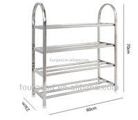 4 Tier stainless steel Shose Rack & family Shose Shelf