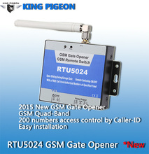 GSM Sliding Gate Operator Up to 200 authorized phone numbers can be configured at the specified time RTU5024