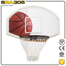 hanging basketball rim backboards for NBA basketball standings