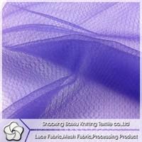 2015 news-style 100 polyester diamond mesh fabric for germent/ wedding dress