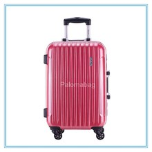 hard shell telescopic spinner lugage trolley cases